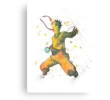 """Naruto Silhouette"" from the set ""Rivals"". Canvas Print"