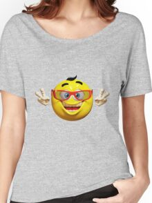 Happy Emoticon Women's Relaxed Fit T-Shirt