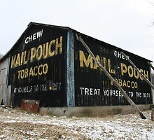Mail pouch barn - West Virginia, USA by searchlight