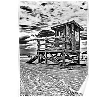 Clearwater Beach, FL HDR  Poster