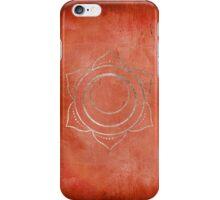 Sacral Chakra iPhone Case/Skin
