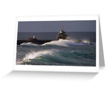 Winter's Swell Greeting Card
