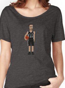 Manu Ginóbili - Spurs Women's Relaxed Fit T-Shirt