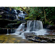 Cascading Somersby Falls Photographic Print