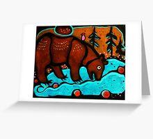 Bear Spirit Greeting Card