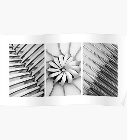 Cutlery Set Graphic Poster