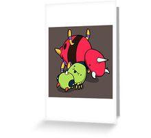 Number 167 & 168! Greeting Card