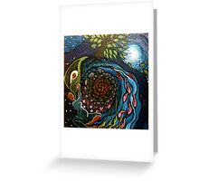 Cosmic First Woman Greeting Card
