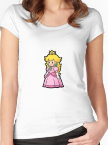 Princess Peach Women's Fitted Scoop T-Shirt