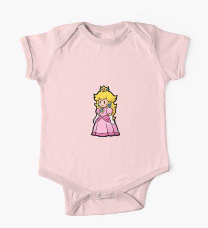 Princess Peach One Piece - Short Sleeve