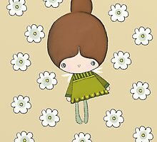 Greta and her green frock by stamptout