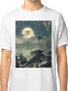 If Moon Would Travel Classic T-Shirt