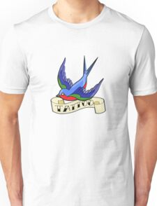 Old Style Swallow Tattoo T-Shirt