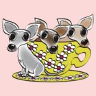 Tea Cup Pup by Diana-Lee Saville