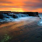 Coastal Waterfall by Michael  Keene