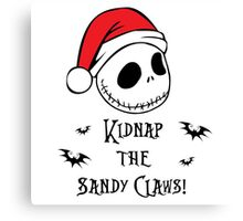Nightmare Before Christmas - Sandy Claws Canvas Print