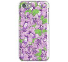Rhode Island Flowers iPhone Case/Skin