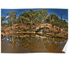 In Reflection - Hill End, NSW Australia - The HDR Experience Poster
