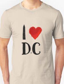 I Heart DC (remix) by Tai's Tees T-Shirt