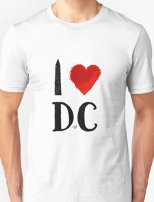 I Heart DC (remix) by Tai's Tees T-Shirt