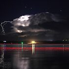 Lightning Show by Michael  Keene