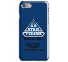 Star Tours 1401- BLUE iPhone Case/Skin