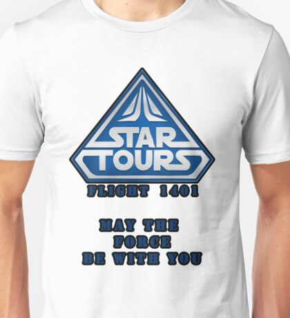 Star Tours 1401- BLUE Unisex T-Shirt