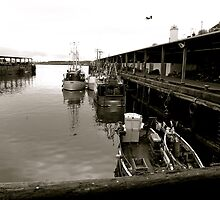 Docking - North Shields Quayside by Jack Taylor