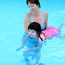 Swimming lesson by daffodil