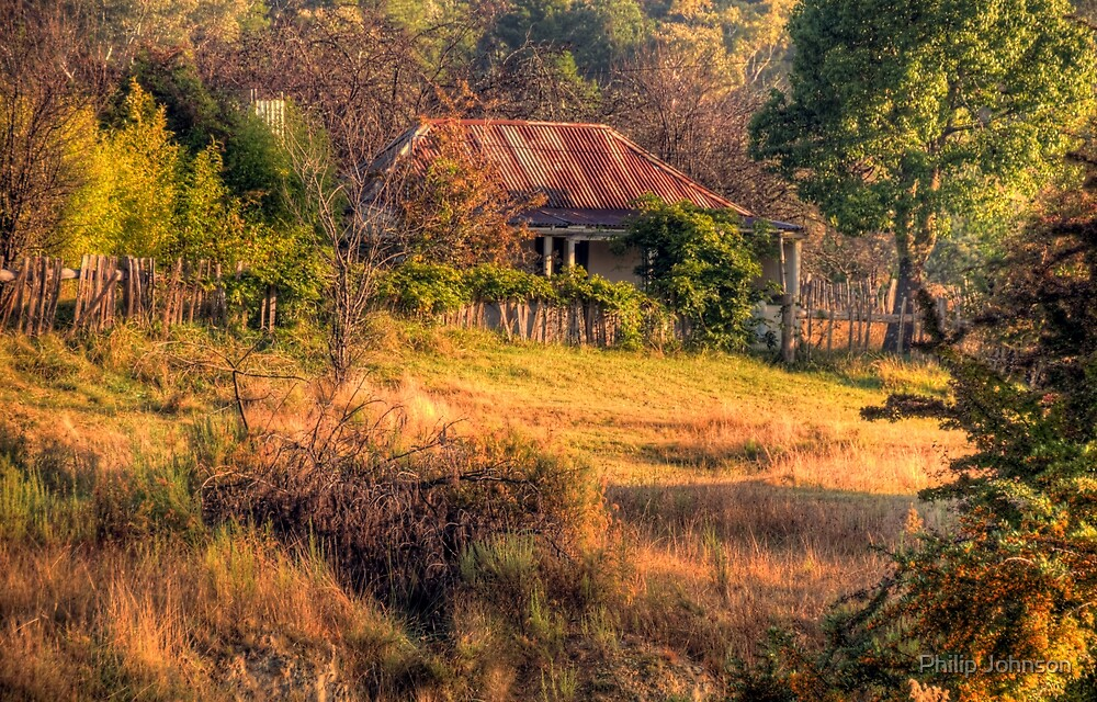 A Home among the Gum Trees - Hill End , NSW Australia - The HDR Experience by Philip Johnson