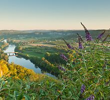 Sunrise over the Dordogne by Chris Tarling