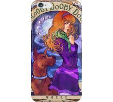 Scooby Dooby Mucha iPhone Case/Skin