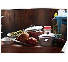 Thai kitchen. Poster