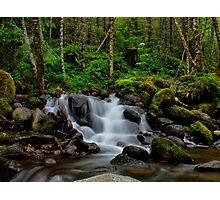 Canyon Creek Rush Photographic Print