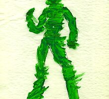 The Green Superhero by Vincent Gitto