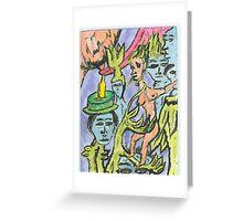 ecology-resized Greeting Card