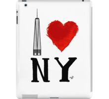 I Love NY Freedom by Tai's Tees iPad Case/Skin