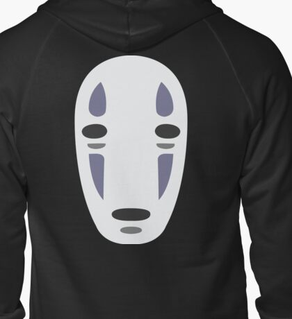 No Face - Spirited Away Zipped Hoodie