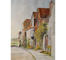 A lane in Rye - East Sussex Photographic Print