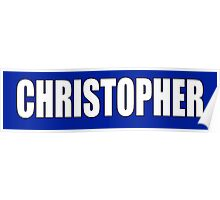CHRISTOPHER, Topher, Name, Tag, Chris, Kit Poster