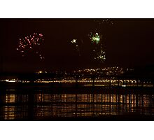 Fireworks in the sky Photographic Print