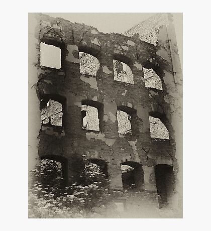 Collapsed Building II Photographic Print