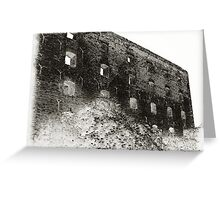 Collapsed Building III Greeting Card