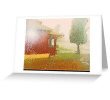 The Rain Series 2-1 - My Neighborhood Greeting Card
