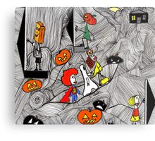 Trick O Treat Metal Print