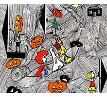 Trick O Treat Photographic Print