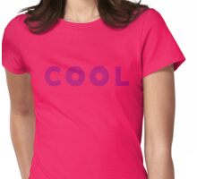 Grenda's C O O L - Gravity Falls Womens Fitted T-Shirt