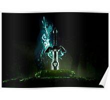 Zelda sword  Poster