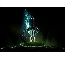 Zelda sword  Photographic Print