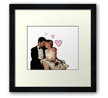 Parks Wedding Framed Print